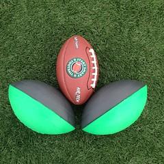 ball(0.0), ball(0.0), grass(1.0), sports equipment(1.0), green(1.0), football(1.0),