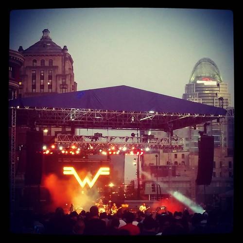 #Weezer at #HorseshoeCincy!