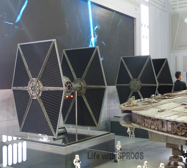 Hot Toys Tie Fighters