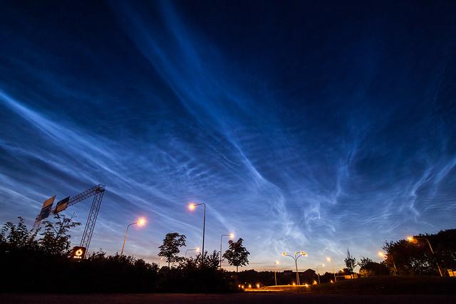noctilucent clouds 2