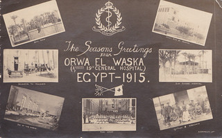 Seasons Greetings from Orwa El Waska, Egypt - 1915