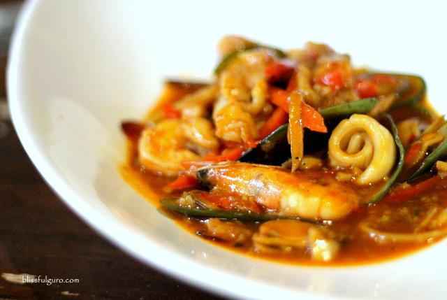 Bistro 360 Cabanatuan Spice Mixed Seafood