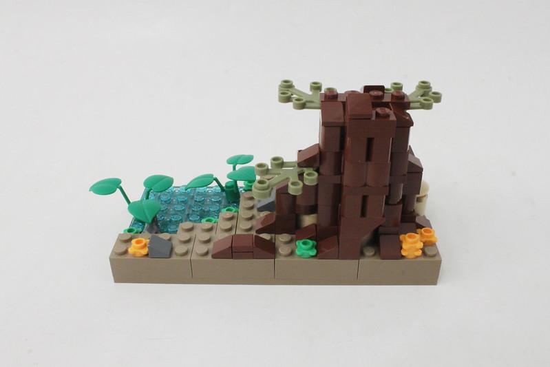Review - LEGO Star Wars SDCC 2015 Dagobah Mini-Build από Brick Fan 19949824642_cb00aac487_c
