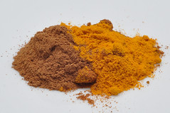 cayenne pepper(0.0), soil(0.0), plant(0.0), produce(0.0), paprika(1.0), powder(1.0), spice mix(1.0), food(1.0), curry powder(1.0),