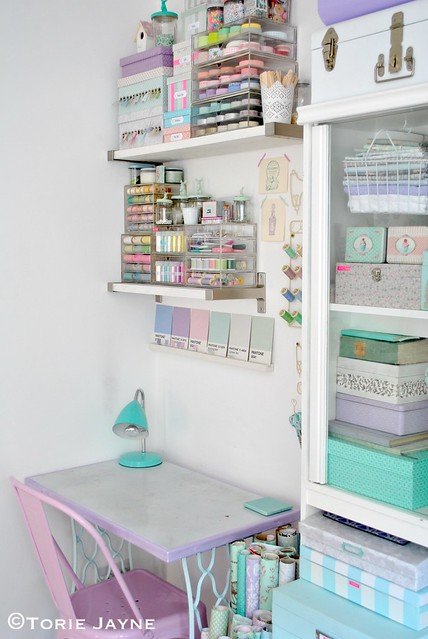 Craft room corner