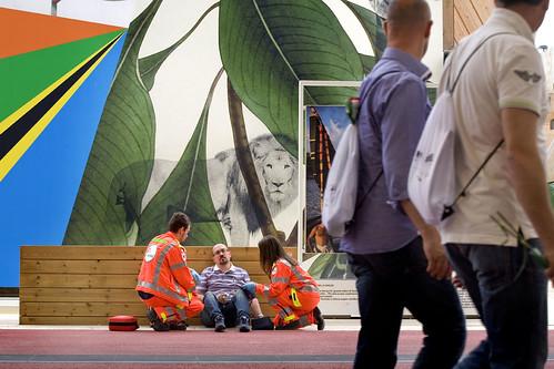 Expo: il Soccorso dei volontari Anpas
