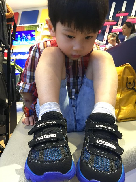 He really likes them!