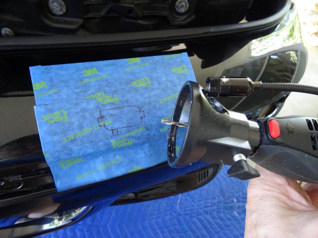 DIY: Installing headlight sprayer heads in new bumper cover