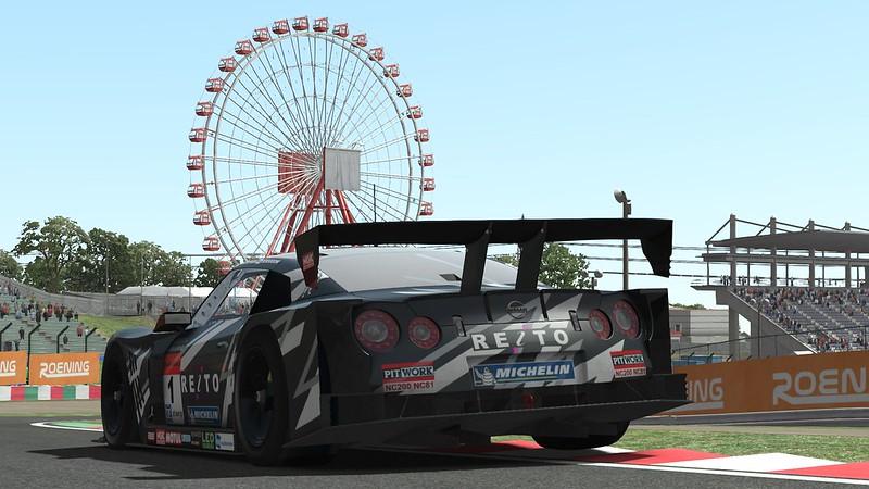 Nissan GT500 rFactor 2 Release
