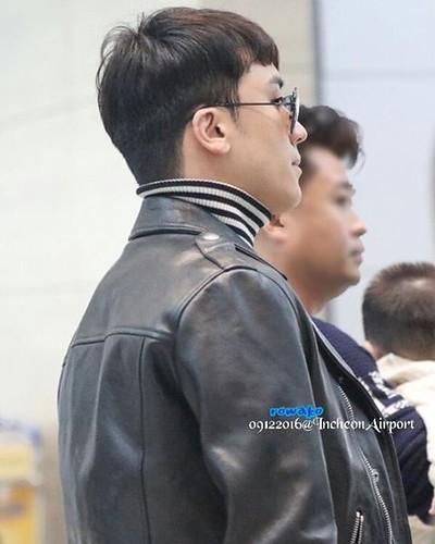 BIGBANG departure Seoul to Fukuoka 2016-12-09 (3)