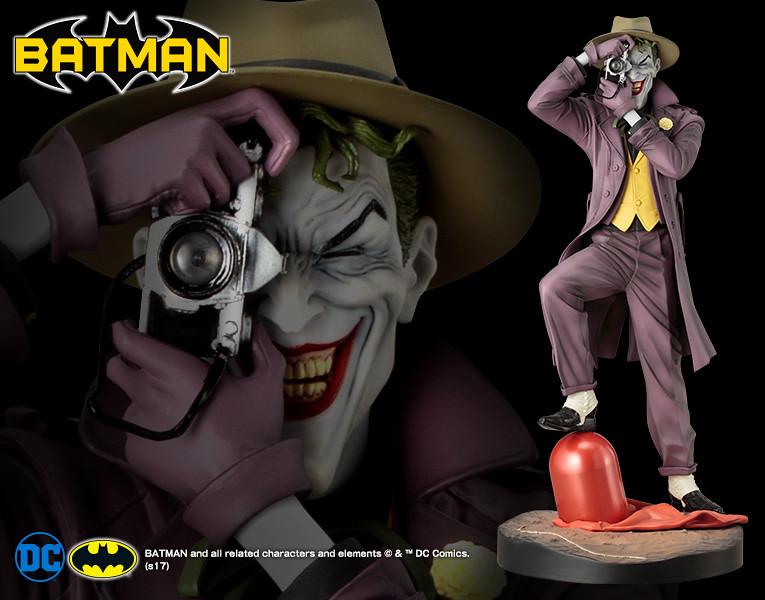 【再販資訊】壽屋 ARTFX 系列【蝙蝠俠:致命玩笑】Batman: The Killing Joke 1/6 比例全身雕像作品