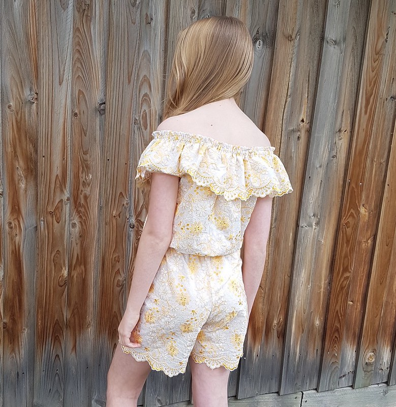 New Look 6444 in embroidered cotton from Chiang Mai