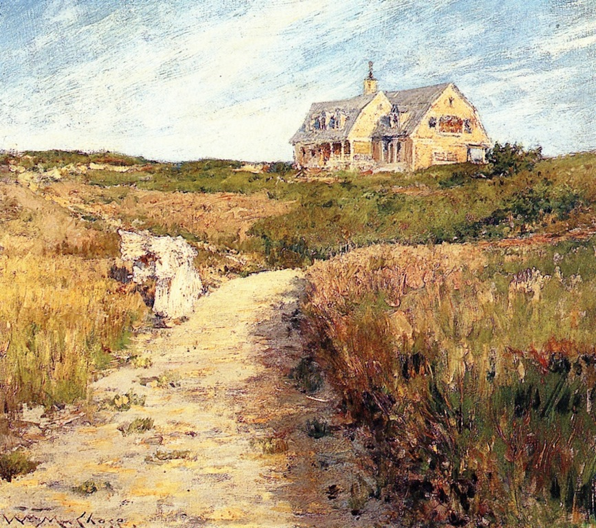 Chase Homestead, Shinnecock by William Merritt Chase, c.1893