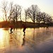 Skating side by side at the Ankeveense Plassen by B℮n