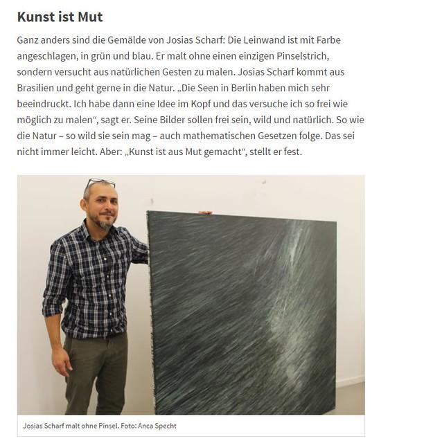Artikel der Berliner Morgenpost