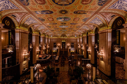 The Palmer House Lobby by Geoff Livingston