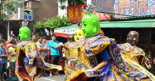 127 Procesion en honor a la diosa Matsu en Kaohsiung (48)
