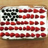 Tadah!!! Fourth of July cheesecake! #FTW #cookoutfood