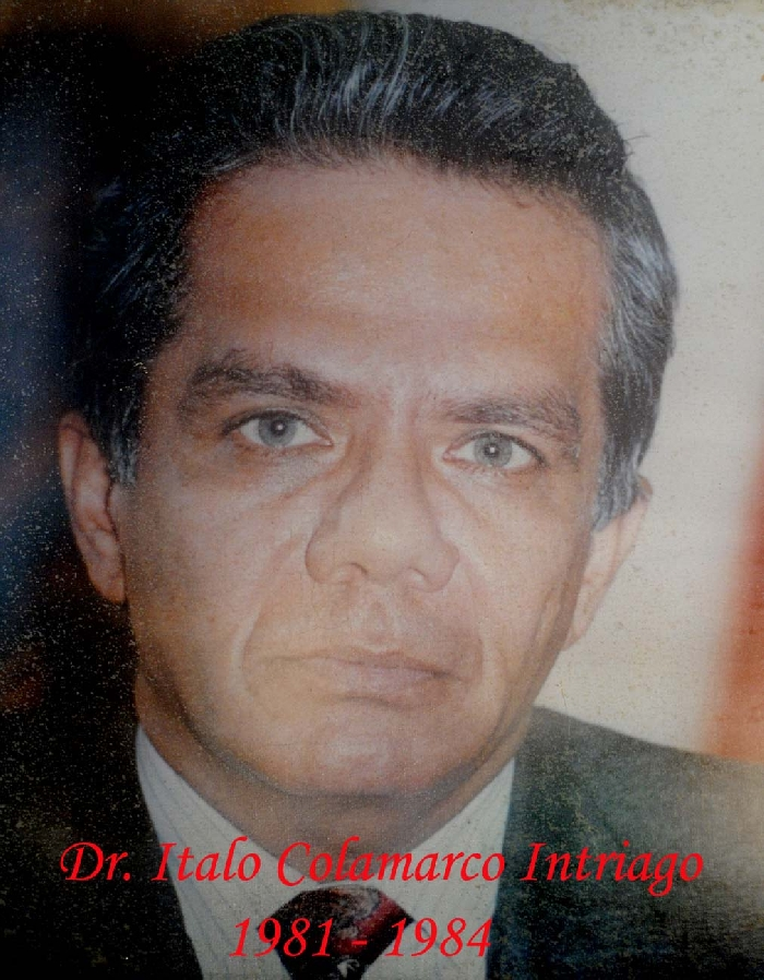 Dr. Italo Colamarco Intriago.