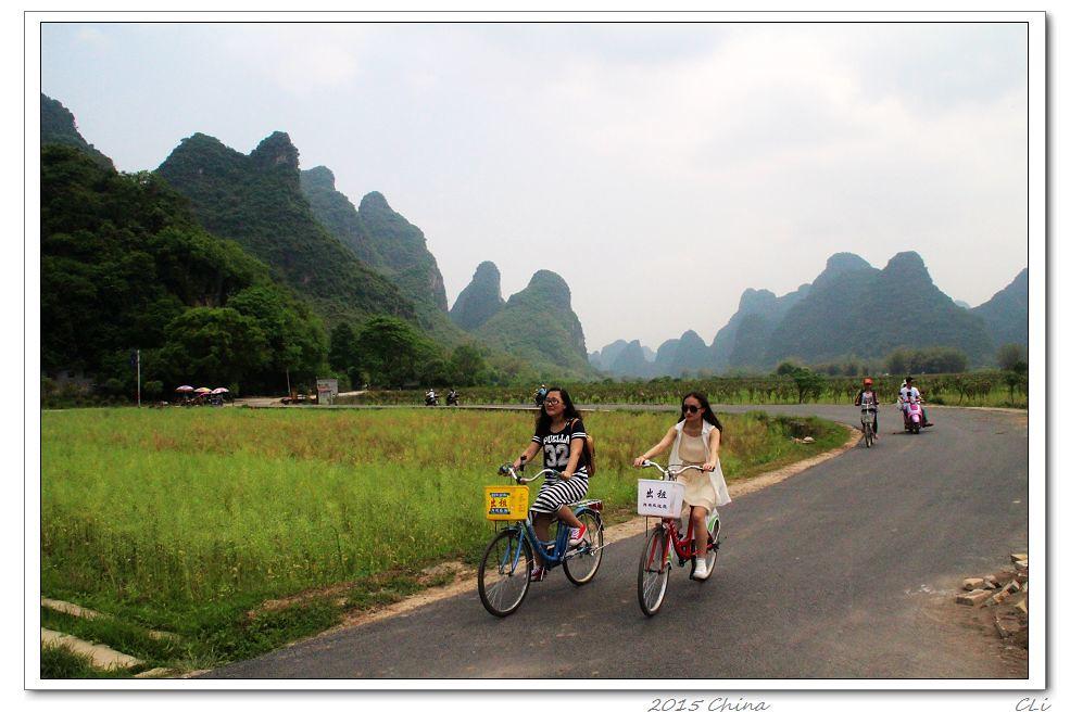 2015闲游中国8 骑行桂林阳朔,欣赏田园诗歌般的美景