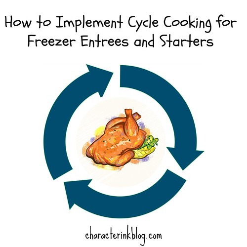 How to Implement Cycle Cooking for Freezer Entrees and Starters