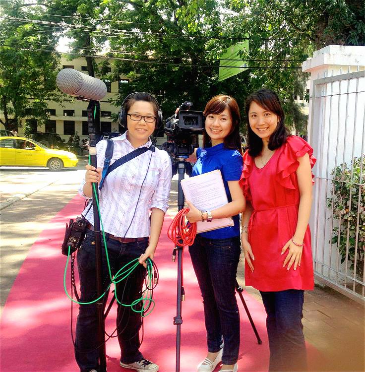 filming east timor