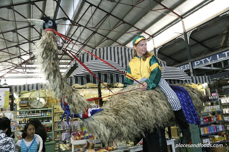 freemantle markets emu rider