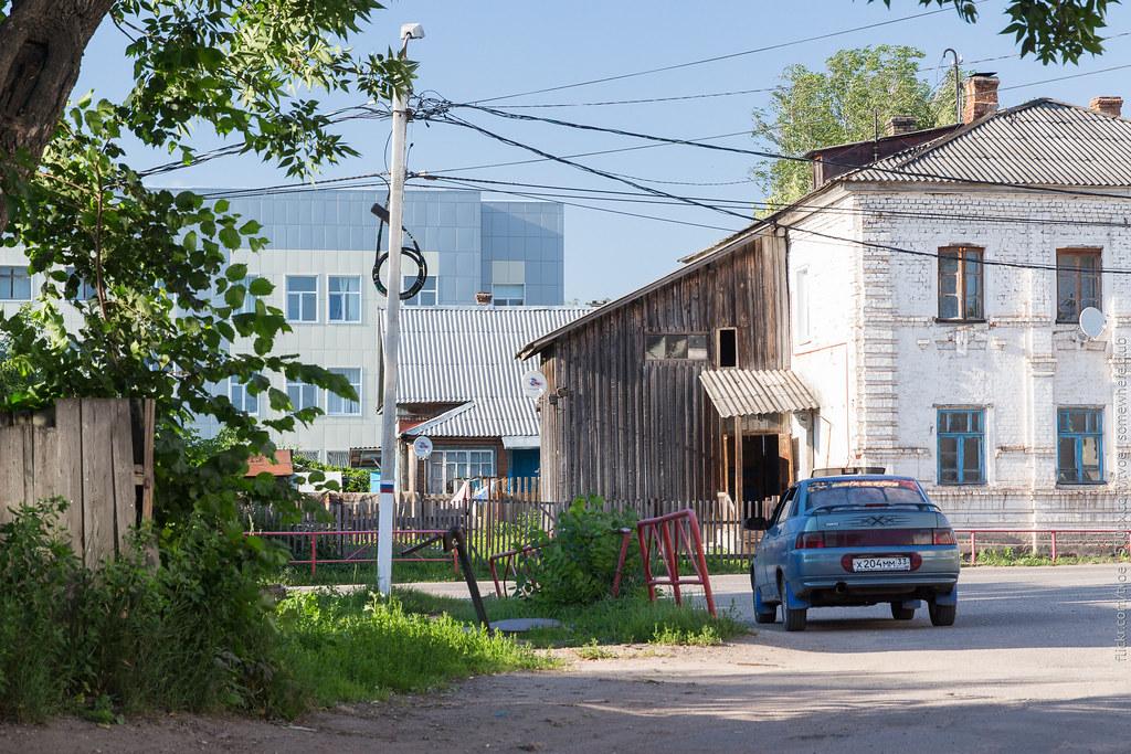 На улицах Юрьева-Польского