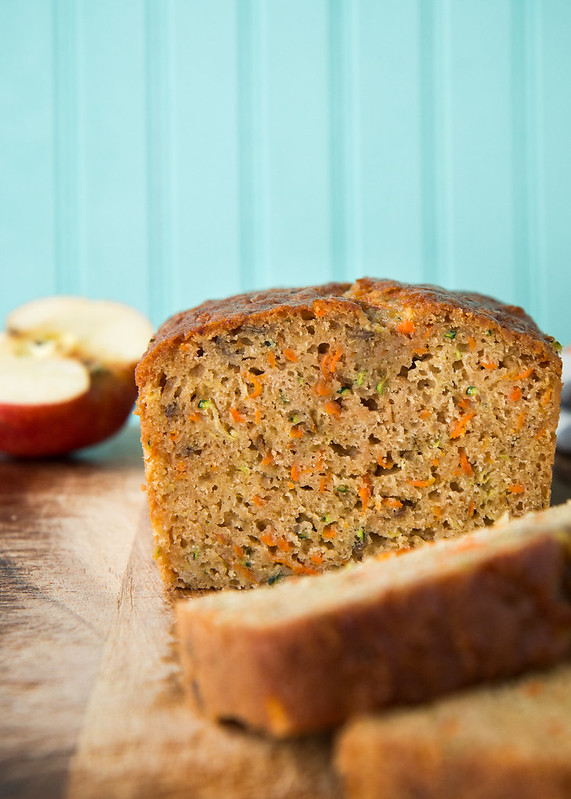 Zucchini Carrot Apple Bread | Will Cook For Friends