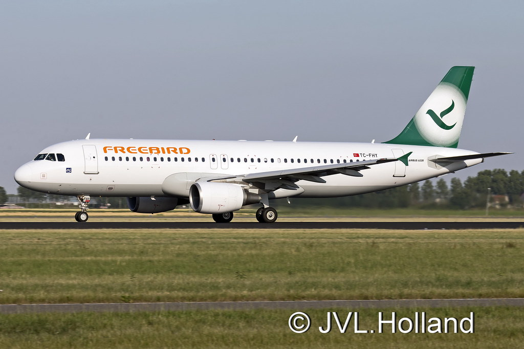 TC-FHY - A320 - Freebird Airlines