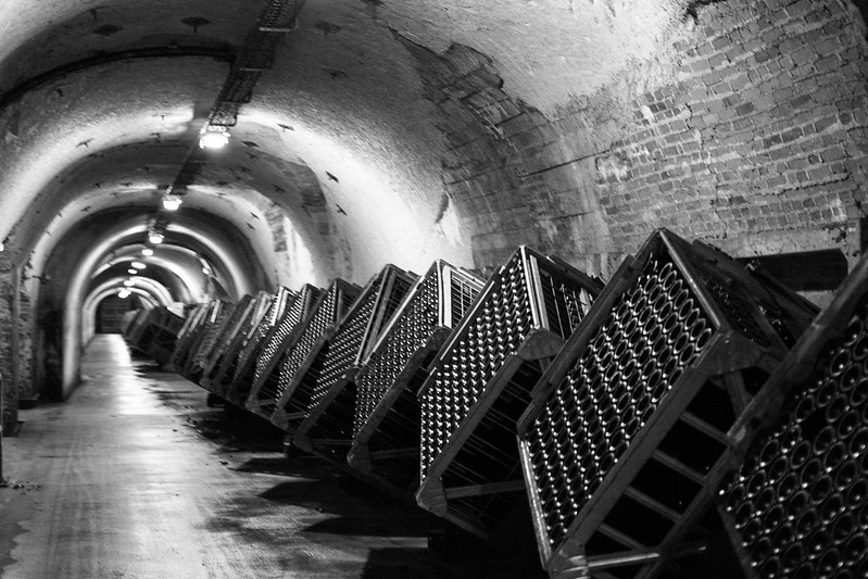 Champagne Cellars at Mercier