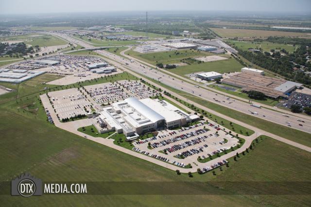 VA Hospital Aerial Photography