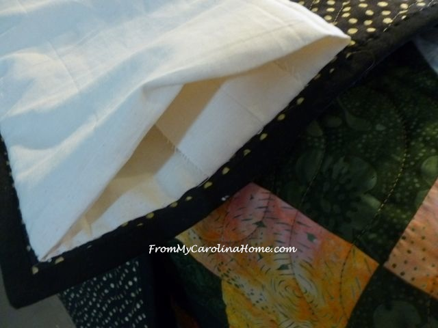 Adding a Temporary Sleeve to a quilt for showing