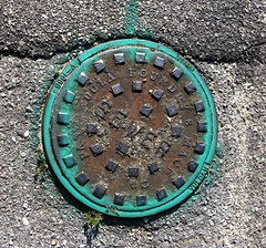 Sewer Cover, PascagoulaFoundry & Mach Co