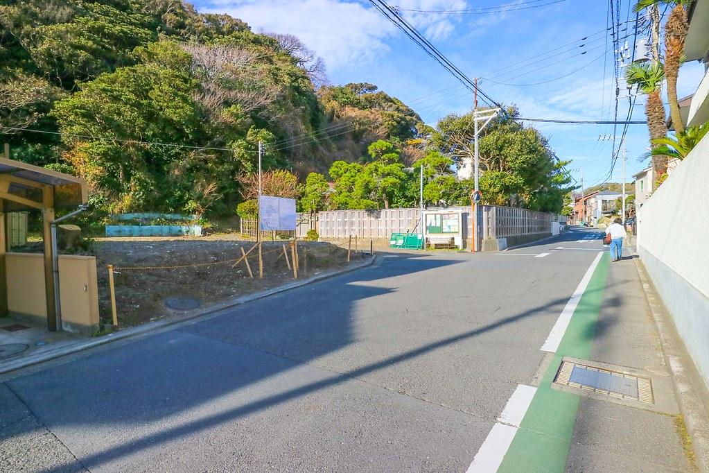 稲村ガ崎の土地