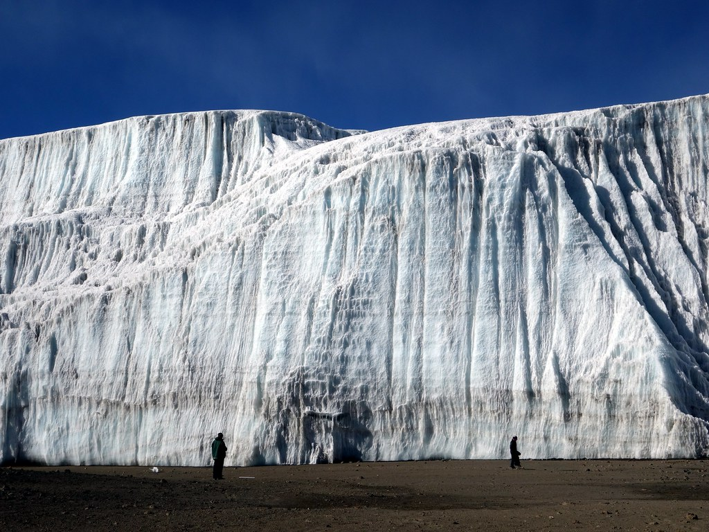 Dwarfed by the Northern Icefield