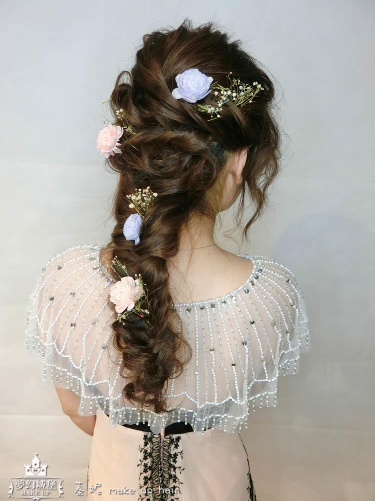 【新秘蓁妮】新娘造型創作 / 優雅編髮