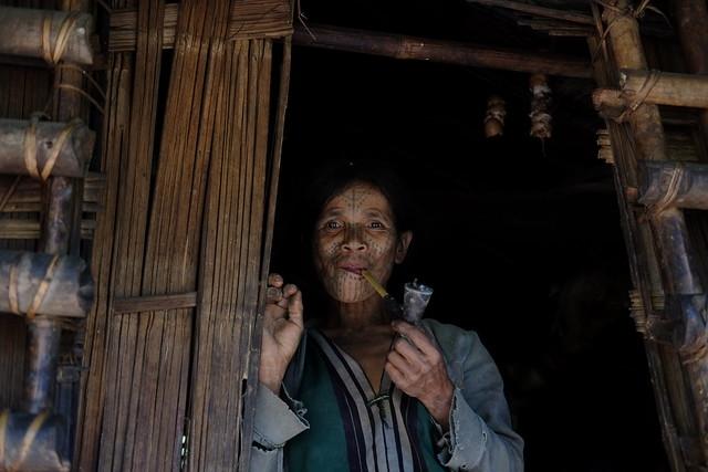 The last tattooed women of Myanmar