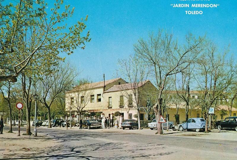 Restaurante Merendón, Avenida de Barber, hacia 1965