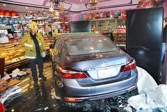 Car Careens into North Hollywood Bakery