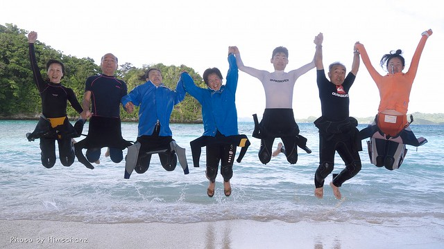 そして、恒例のジャンプショット♪ 皆さん怪我せず頑張った!!!w