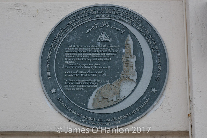Plaque on outside of building