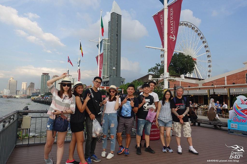 泰國曼谷-水上市場+美功鐵道市集+河濱夜市-25