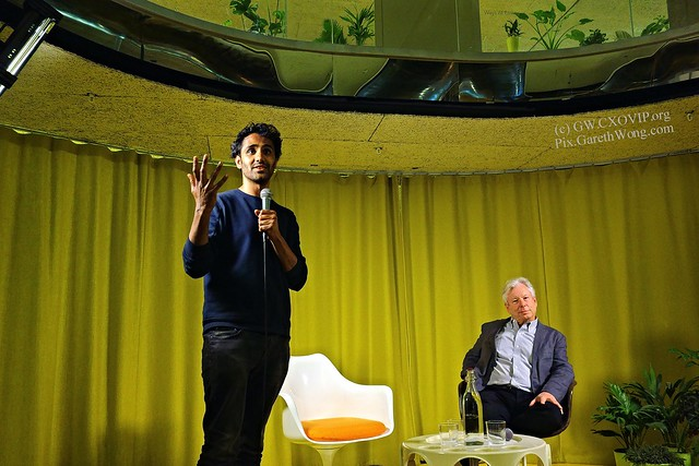Rohan Silva & Prof Richard Thaler at Secondhome from RAW _DSC2587