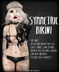 Symmetric Bikini w/Appliers