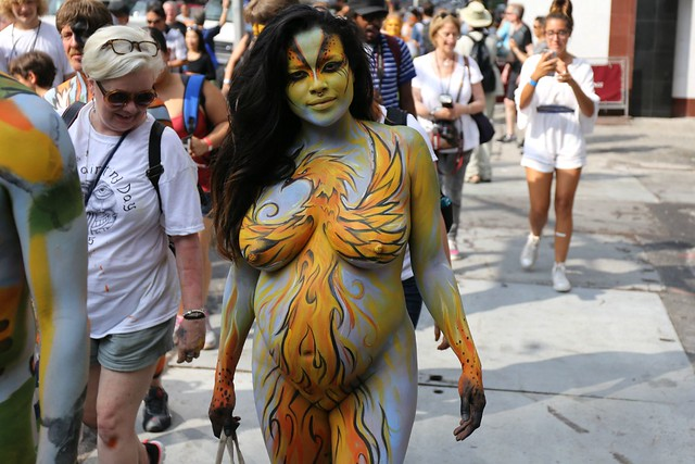 NYC Bodypainting Day 2015 - a photo on Flickriver