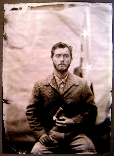 Tintype of Jude Law