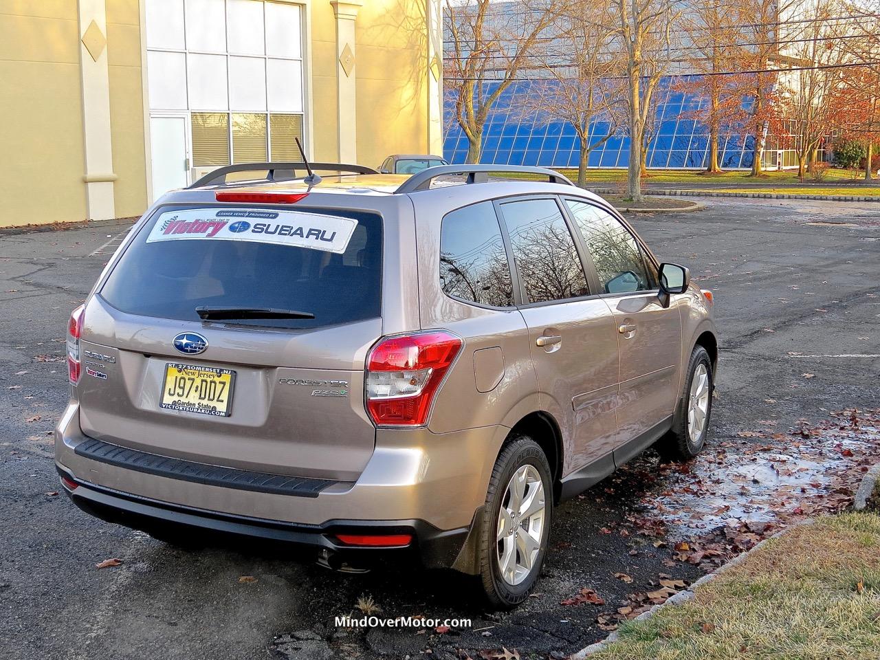 2015 Subaru Forester Rear Angle