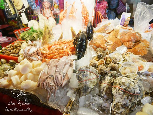 基隆夜市小吃美食烤海鮮 (3)