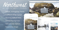 NorthWest - A Simple Blog HTML Template (Personal)